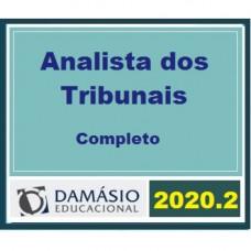 ANALISTA DOS TRIBUNAIS COMPLETO - DAMÁSIO 2020.2 - TJ | TRF | TRT | TST E MP