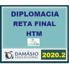 DIPLOMACIA - RETA FINAL - CLIO/DAMÁSIO 2020.2