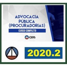 ADVOCACIA PÚBLICA - PROCURADORIAS - CERS 2020.2