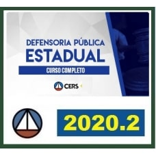 DEFENSORIA PÚBLICA ESTADUAL - CERS 2020.2