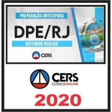 DPE RJ - DEFENSOR PÚBLICO DO RIO DE JANEIRO - DPERJ - (CERS 2020)