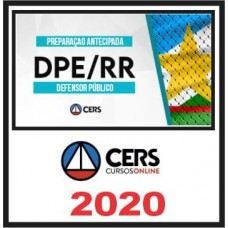 DPE RR - DEFENSOR PÚBLICO DE RORAIMA - DPERR - (CERS 2020)
