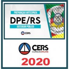 DPE RS - DEFENSOR PÚBLICO DO RIO GRANDE DO SUL - DPERS - (CERS 2020)