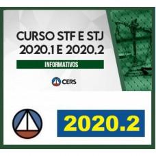 INFORMATIVOS STF e STJ - CERS - 2020.1 e 2020.2