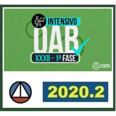 RATEIO OAB XXXII (32) - 1ª FASE INTENSIVO CERS 2020.2