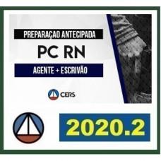 PC RN - AGENTE E ESCRIVÃO DA POLÍCIA CIVIL DO RIO GRANDE DO NORTE - PCRN - CERS - 2020