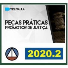 PEÇAS PRÁTICAS - PROMOTOR DE JUSTIÇA - CERS 2020.2 - REVISADO E ATUALIZADO - 2ª FASE