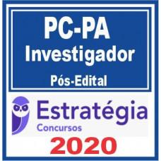 INVESTIGADOR PC PA (POLICIA CIVIL DO PARÁ - PCPA) PÓS EDITAL - ESTRATEGIA 2020