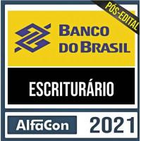 BB - ESCRITURÁRIO DO BANCO DO BRASIL - ALFACON 2021 - PÓS EDITAL