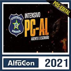 PC AL  - AGENTE E ESCRIVÃO DA POLÍCIA CIVIL DE ALAGOAS - PCAL - ALFACON 2021 - PÓS EDITAL