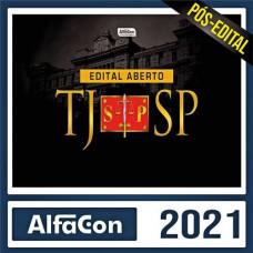 TJ SP - ESCREVENTE - ALFACON - 2021 - PÓS EDITAL