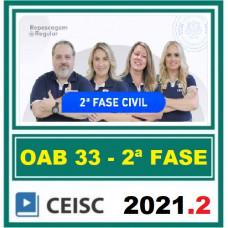 2ª (segunda) Fase OAB XXXIII (33º Exame) - DIREITO CIVIL - CEISC 2021