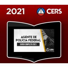 PF - AGENTE DA POLICIA FEDERAL - CERS 2021