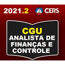 CGU - ANALISTA DE FINANÇAS E CONTROLE - CERS 2021.2 - PRÉ EDITAL