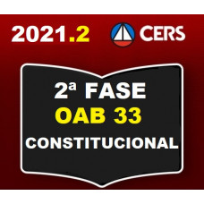 2ª (segunda) Fase OAB XXXIII (33º Exame) - DIREITO CONSTITUCIONAL - CERS 2021
