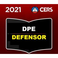 DEFENSOR PÚBLICO - DEFENSORIA PÚBLICA ESTADUAL - CERS 2021