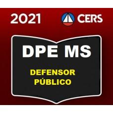 DPE MS - DEFENSOR PÚBLICO DE MATO GROSSO DO SUL - DPEMS - PRÉ EDITAL - CERS 2021