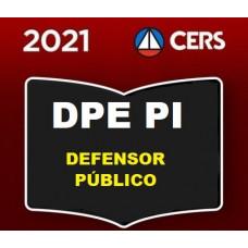 DPE PI - DEFENSOR PÚBLICO DE GOIÁS - DPEPI - PRÉ EDITAL - CERS 2021