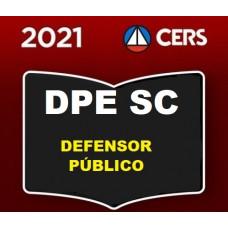 DPE SC - DEFENSOR PÚBLICO DE SANTA CATARINA - DPESC - PRÉ EDITAL - CERS 2021
