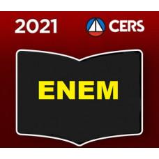 ENEM - QG DO ENEM - PREPARATÓRIO PARA O EXAME NACIONAL DO ENSINO MÉDIO - CERS 2021