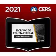 PF - ESCRIVÃO DA POLICIA FEDERAL - CERS 2021