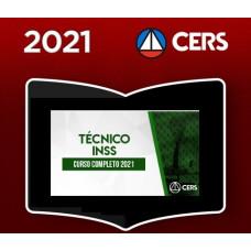 INSS - TÉCNICO DO INSS - CURSO COMPLETO - CERS 2021