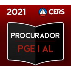PGE - AL PROCURADOR DO ESTADO DE ALAGOAS - CERS 2021