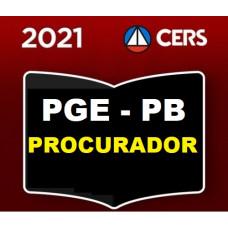 PGE - PB PROCURADOR DO ESTADO DA PARAÍBA - PGE PB - PRÉ E PÓS EDITAL - CERS 2021