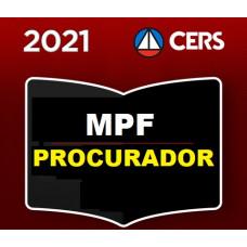 PROCURADOR DA REPÚBLICA - MPF - CERS 2021
