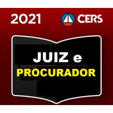 PROCURADOR DA REPÚBLICA e JUIZ FEDERAL - MPF e MAGISTRATURA FEDERAL - CERS 2021