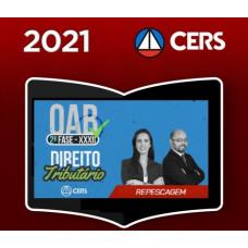 OAB - 2ª (segunda) Fase XXXII (32º Exame) DIREITO TRIBUTÁRIO - CERS 2021
