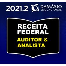 RECEITA FEDERAL - AUDITOR E ANALISTA - REGULAR - DAMÁSIO 2021.2