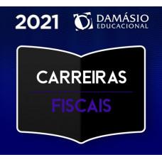 CARREIRAS FISCAIS - DAMÁSIO - 2021- AUDITOR, FISCAL TRIBUTÁRIO, FISCAL DE RENDAS, AGENTE FISCAL DE RENDAS, FISCAL DE TRIBUTOS, FISCAL DO ICMS, FISCAL DO ISS E AUDITOR/SEFAZ