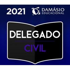 DELEGADO DE POLÍCIA CIVIL - DELTA - TEORIA + PRÁTICA - DAMÁSIO 2021