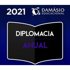 CURSO PARA DIPLOMACIA - ANUAL - DAMÁSIO 2021