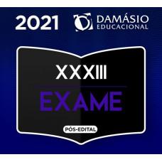 RATEIO OAB 1ª FASE XXXIII (33) - Damásio 2021 - COMBO EXTENSIVO SEMANAL  + RESOLUÇÃO DE QUESTÕES + MENTORIA
