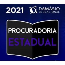 PROCURADORIA ESTADUAL - PROCURADOR - PGE - TEORIA + PRÁTICA - DAMÁSIO 2021