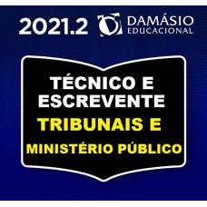 TÉCNICO DOS TRIBUNAIS COMPLETO - DAMÁSIO 2021.2 - TJ | TRF | TRT | TST E MP (SEGUNDO SEMESTRE)