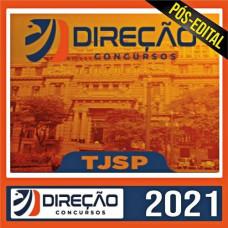 TJ SP - ESCREVENTE - PACOTE COMPLETO - DIREÇÃO CONCURSOS 2021 - PÓS EDITAL