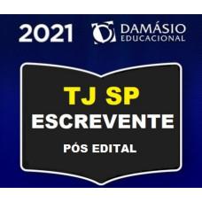 TJ SP - ESCREVENTE - CURSO AVANÇADO - TEORIA E QUESTÕES - TJSP - DAMÁSIO 2021 PÓS EDITAL