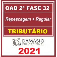 OAB - 2ª (segunda) Fase XXXII (32º Exame) DIREITO TRIBUTÁRIO - DAMÁSIO 2021