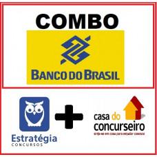 COMBO - BANCO DO BRASIL - ESCRITURÁRIO BB - ESTRATEGIA e CASA DO CONCURSEIRO 2021 - PÓS EDITAL
