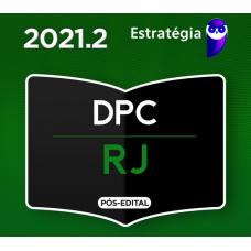 DELEGADO PCRJ - PÓS EDITAL - DELEGADO DA POLÍCIA CIVIL DO RIO DE JANEIRO PC RJ - ESTRATÉGIA 2021