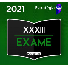 RATEIO OAB 1ª FASE XXXIII (33)  -  ESTRATÉGIA - XXXIII EXAME DE ORDEM - 2021
