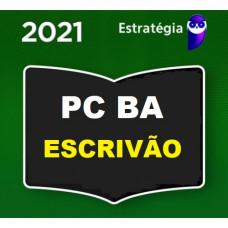 PC BA - ESCRIVÃO - PCBA - ESTRATEGIA 2021 - PRÉ EDITAL