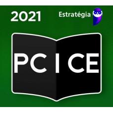 PC CE - INSPETOR DE POLÍCIA - PCCE - ESTRATEGIA 2021 - PRÉ EDITAL