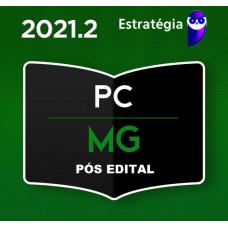INVESTIGADOR - PC MG - PÓS EDITAL  - POLÍCIA CIVIL DE MINAS GERAIS - PCMG - ESTRATEGIA 2021