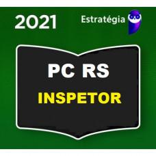 INSPETOR - PC RS ( POLÍCIA CIVIL DO RIO GRANDE DO SUL) - PRÉ EDITAL - ESTRATEGIA 2021