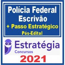 ESCRIVÃO DA PF (POLICIA FEDERAL) TEORIA + PASSO ESTRATÉGICO - PÓS EDITAL - ESTRATEGIA 2021