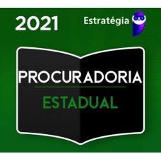 PGE - PROCURADOR DO ESTADO - REGULAR - PACOTE COMPLETO - ESTRATÉGIA 2021